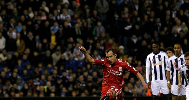 Charlie Adam: Kept his nerve to slot home an early penalty