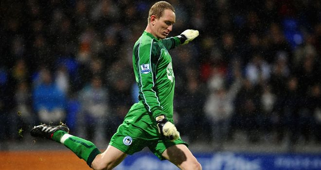 Chris Kirkland: Hungry to put his injury problems in the past