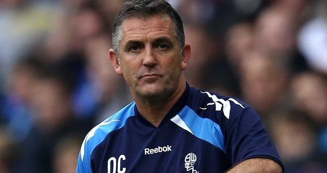 Owen Coyle: Desperate for his side to get back to winning ways and move out of the relegation zone