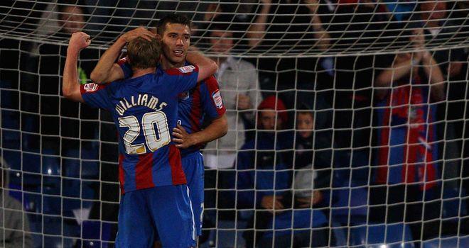 Ambrose: Celebrates his goal