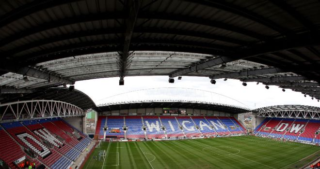 DW Stadium: Newcastle are concerned about fans going in the home section