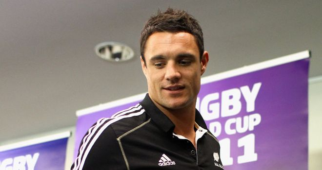 Dan Carter: set for three months out after operation