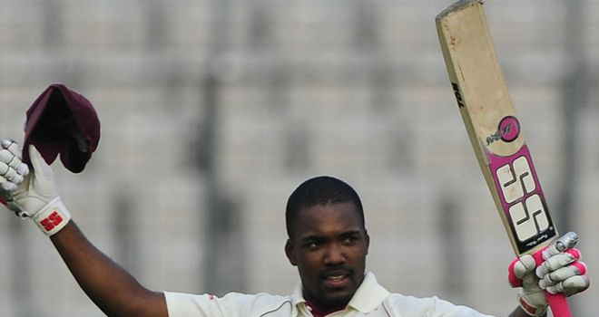 Darren Bravo: Scored his maiden Test century off the final ball of day three