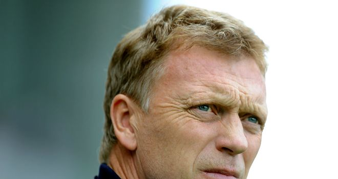 David Moyes: Content with his side's efforts despite defeat to Man United