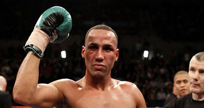 James DeGale: Set to defend his European title on October 13