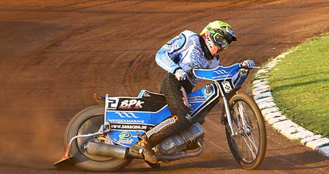 Dennis Andersson: Good form for Poole (Pic credit Les Aubrey)
