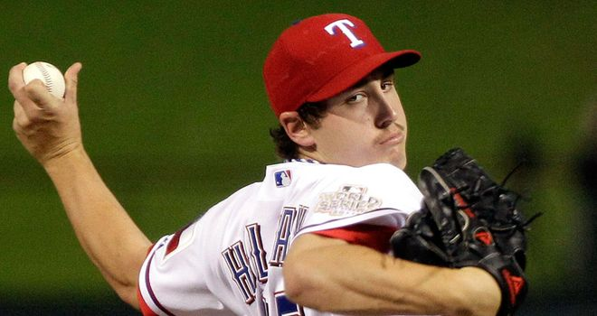 Derek Holland: Fine pitching performance for Texas Rangers