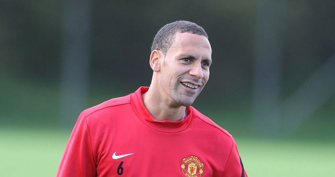 Rio Ferdinand: Tottenham boss Harry Redknapp feels it would be difficult for the defender to leave Man Utd