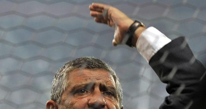 Fernando Santos: Felt his side failed to respond to fast start by Czechs