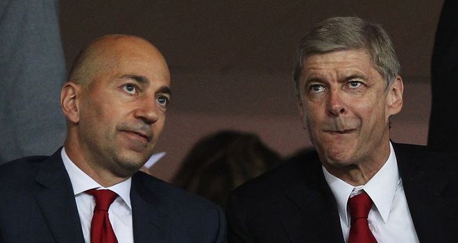 Ivan Gazidis and Arsene Wenger have espoused a self-sufficiency model at Arsenal