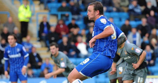 Kedwell: Bagged two from the spot