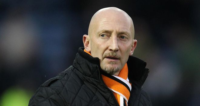 Holloway: doing a fine job at Blackpool