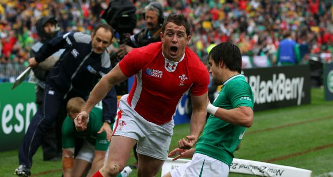 Shane Williams: Got Wales off to a stunning start