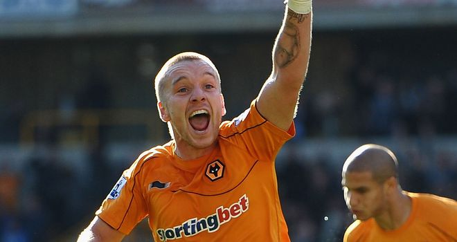 Jamie O¿Hara: Wolves midfielder netted the equaliser against Swansea at home