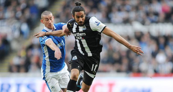 Jonas Gutierrez: The Argentine is not getting carried away by Newcastle's impressive season