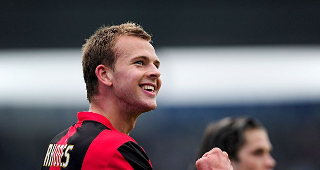 Jordan Rhodes: The striker has scored nine goals in his last four matches for Huddersfield