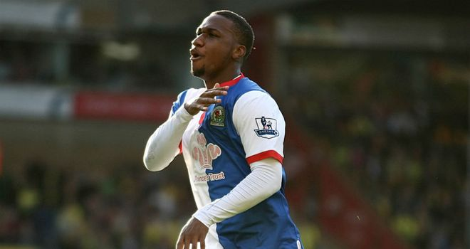 Junior Hoilett: Has been in hot goalscoring form for Blackburn