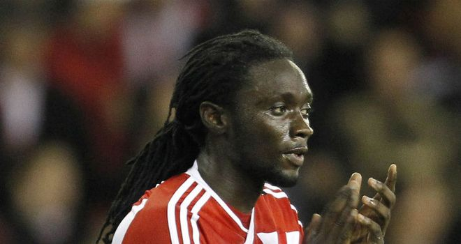 Kenwyne Jones: Helped set up Stoke's winner against West Brom