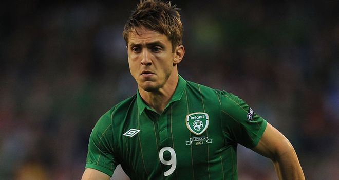 Kevin Doyle: Frustrated at being sent off in Ireland's 2-1 win over Armenia on Tuesday