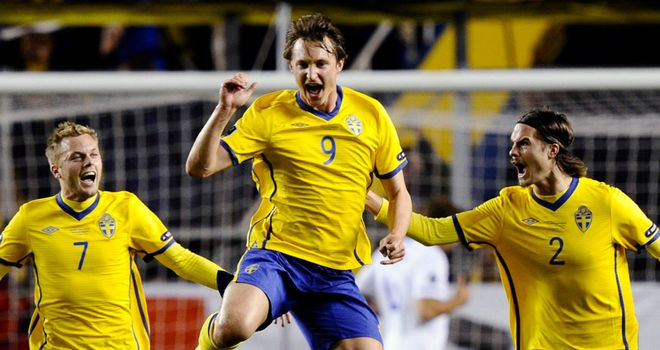 Kim Kallstrom: Opened the scoring for Sweden as they qualified for Euro 2012 with victory over Holand
