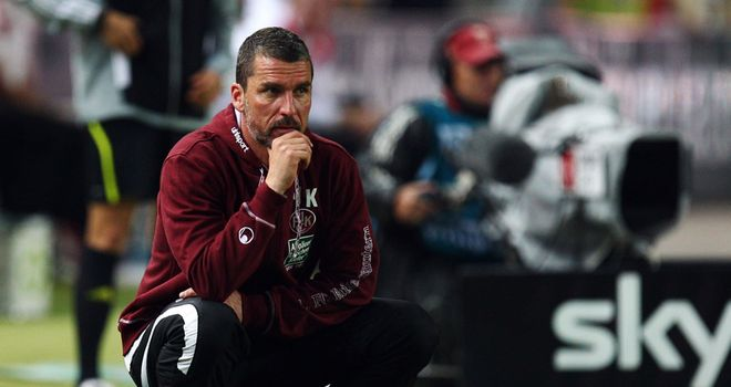 Marco Kurz: Joined Kaiserslautern at the beginning of the 2009/10 season