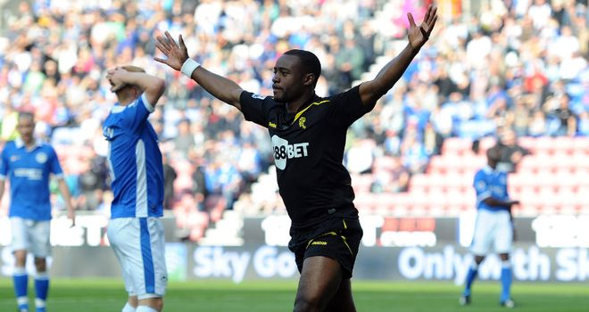 Nigel Reo-Coker: Scored Bolton's opening goal against Wigan at DW Stadium from close range