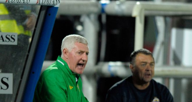 Nigel Worthington: Proud of Northern Ireland's effort against Italy but has called for patience in the future