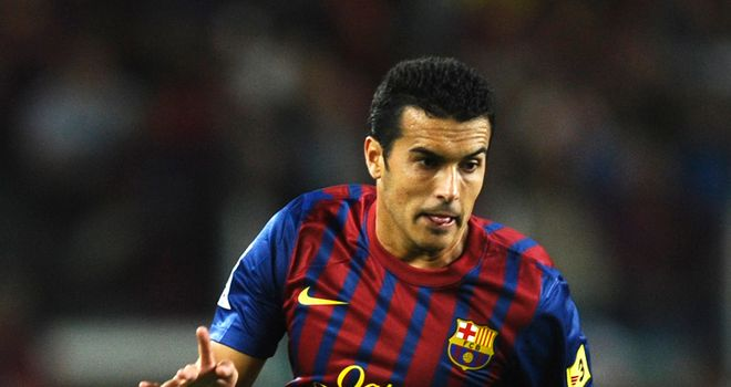 Pedro: Facing two weeks on the sidelines with ankle injury picked up against Granada