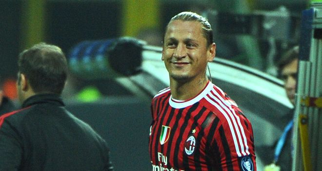 Philippe Mexes: Milan defender finds himself back on the treatment table