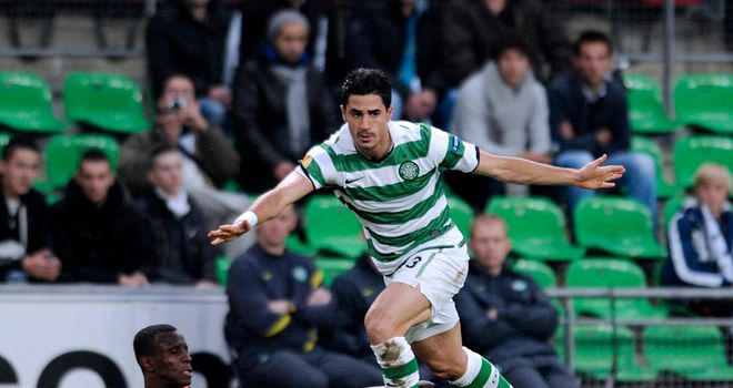 Beram Kayal: Celtic midfielder eyes victory over Atletico Madrid in Europa League on Wednesday