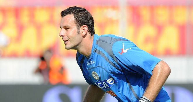 Samir Handanovic: Is set to move to Inter Milan from Udinese after a fee was agreeed between the two sides
