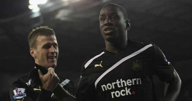 Demba Ba: The striker scored his second hat-trick of the season as Newcastle beat Stoke 3-1 on Monday