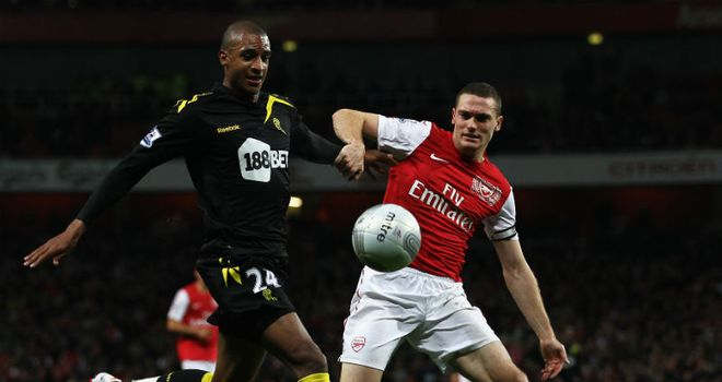 Thomas Vermaelen: The centre-back played 84 minutes against Bolton