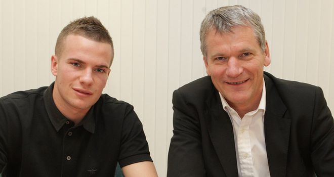 Tom Cleverley: Rewarded for his fine form this season with a new deal until 2015