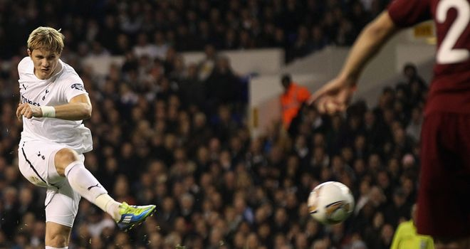 Roman Pavlyuchenko: Scored the only goal at White Hart Lane with a sensational free-kick