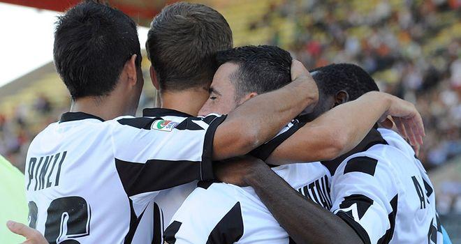 Udinese: Antonio Di Natale's return from injury saw the Bianconeri get back to winning ways