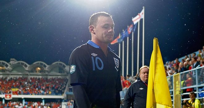 Wayne Rooney: Will be a big loss for England at Euro 2012, according to David Beckham