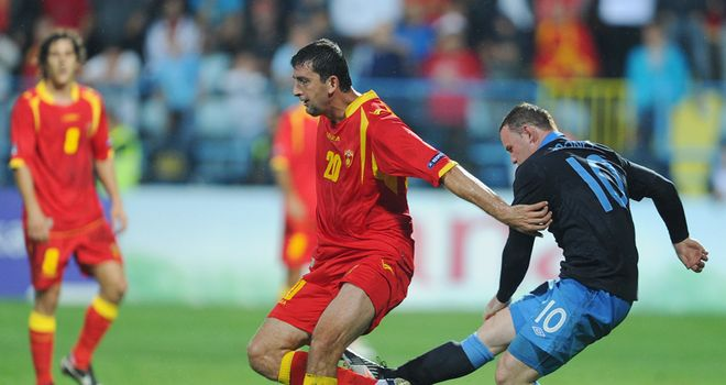 Wayne Rooney: Sent off for kicking out at Miodrag Dzudovic when England last met Montenegro in Podgorica