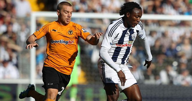 Somen Tchoyi: Could soon be wearing a Wolves shirt instead