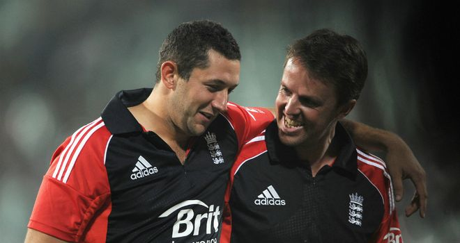 Regulars: Tim Bresnan (left) and Graeme Swann are England mainstays in all formats
