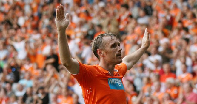 Brett Ormerod: Veteran striker heading for the Blackpool exit
