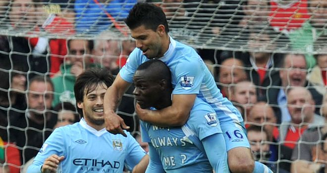 Three and easy: Silva, Balotelli and Aguero are frightening, says Kammy