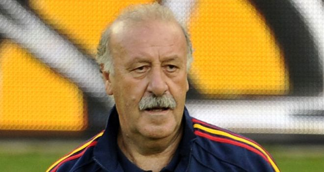 Vicente del Bosque: Not upset with the draw but knows Spain will have to be at their best