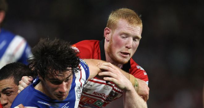Liam Farrell: Will miss Wigan's clash with Leeds