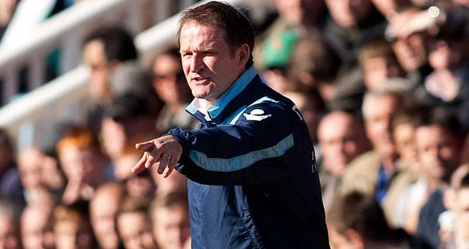Simon Grayson: The Leeds boss was less than impressed with Rachubka