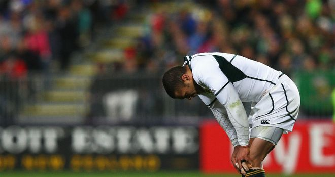Injured: Habana is battling to make the World Cup quarter-final