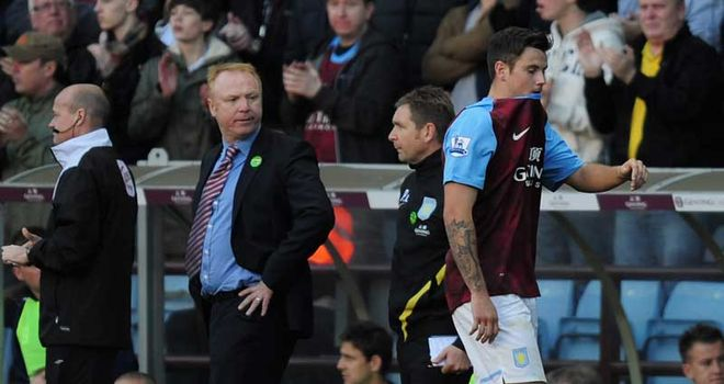 Alex McLeish: Managers believes sending-off to be an honest mistake on the part of the officials
