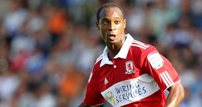 Justin Hoyte: Middlesbrough full-back has signed a new two-year contract at The Riverside