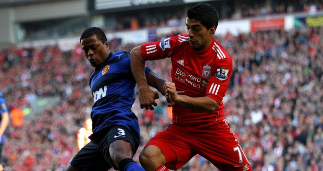 Patrice Evra has accused Luis Suarez of racially abusing him during 1-1 draw at Anfield