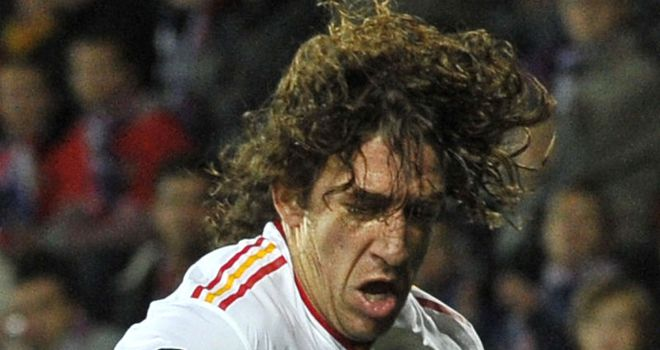 Carles Puyol: Set to win 100th Spain cap